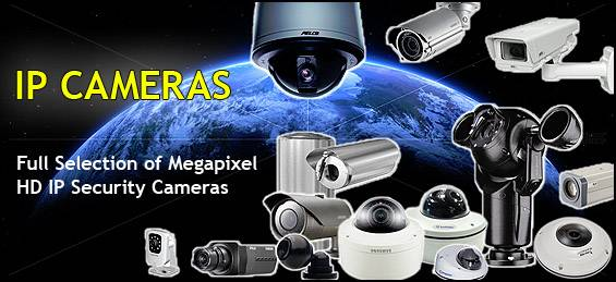 Network IP Security Cameras