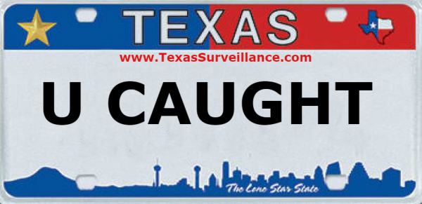 license plate capture security cameras houston